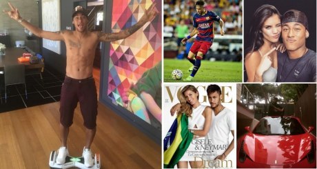 Inside the Life of a 23-Year-Old Brazilian Soccer Star Worth $75 Million